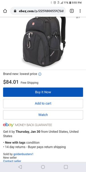 Swiss Gear SA3239 Computer Backpack for Sale in Maryville, TN