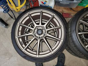19 inch sparco light bronze 5x114 for Sale in Nokesville, VA