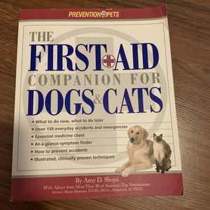 The First Aid Companion For Dogs And Cats for Sale in Ponchatoula, LA