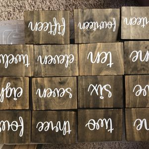 Table Numbers for Sale in Laguna Niguel, CA