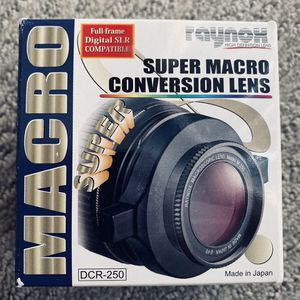 Raynox DCR-250 Super Macro Snap Lens for Sale in Chandler, AZ