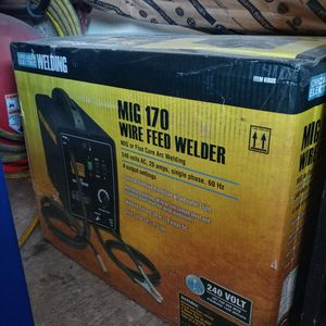 Brand New Never Opened Gas Mig 170amp Welder for Sale in Surprise, AZ