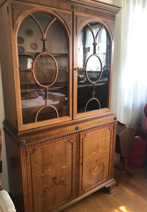 French Antique China Cabinet for Sale in Pasadena, CA