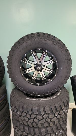 17 inch wheels for jeep wrangler gladiator and dodge ram for Sale in Miami, FL