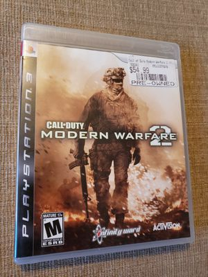 CALL OF DUTY: MODERN WARFARE 2 - PS3 Includes the instruction manual for Sale in Chambersburg, PA