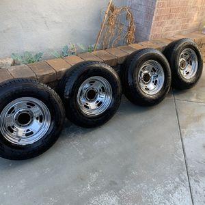Trailer Rims And Tires Carlisle In Good Shape for Sale in La Mirada, CA