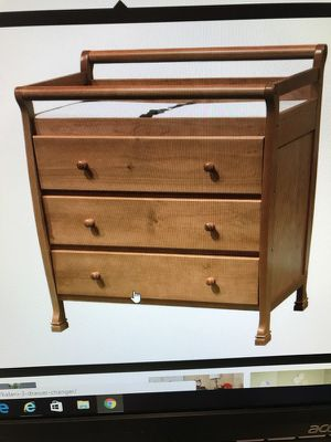 Changing table for Sale in Warren, MI