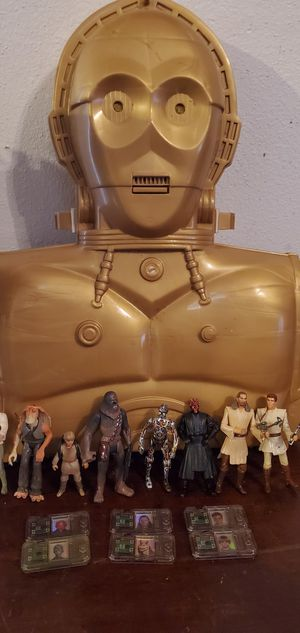 Star wars figuras for Sale in Richardson, TX