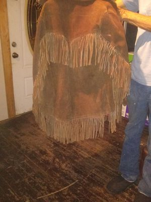Brown leather jacket for Sale in San Angelo, TX