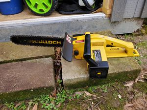 McCulloch 14 inch Electramax chainsaw for Sale in Memphis, TN