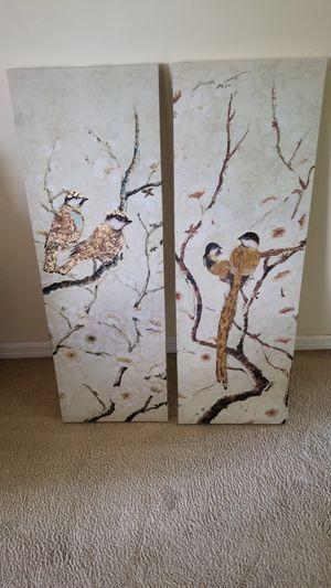 New 2 matching Abstract Art Pieces for Sale in St. Louis, MO