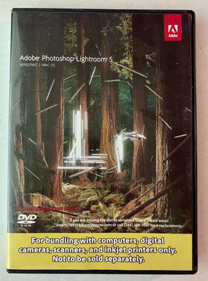 Lightroom 5 with serial number for Sale in Austin, TX