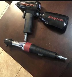 Snap on air tools both 3/8 new mint condition. both come with protective boot. for Sale in Anaheim, CA