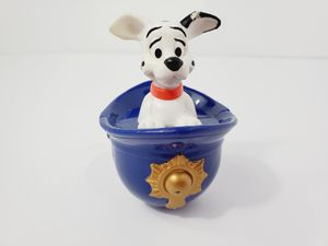 101 Dalmatians Pup in Police Hat Disney Mcdonalds Figurine Weighted Desk Toy 4'' for Sale in Queens, NY