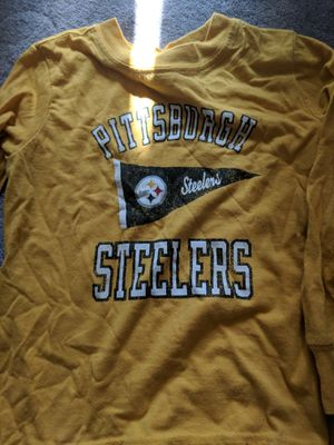 Pittsburgh Steelers boys infant to size 5 for Sale in Granite City, IL