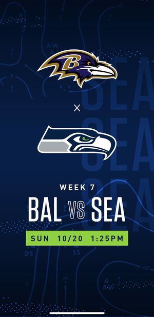 Seahawks vs Ravens for Sale in Federal Way, WA