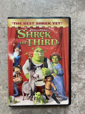 Shrek the 3rd third the movie dvd brand new sealed for Sale in Boynton Beach, FL