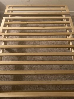 Solid Pine Full Size Bed Frame for Sale in Martinez,  CA