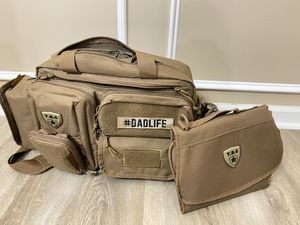 Tactical Baby gear diaper bag with added accessories for Sale in Clayton, NC