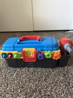 Vtech drill and toolbox for Sale in Ann Arbor, MI