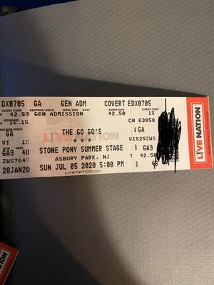 4 tickets to the go-gos NJ 7/5/19 for Sale in NJ, US