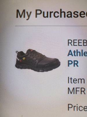 Alloy Toe REEBOK size. 9 1/2 SAFETY SHOES for Sale in Dublin, CA