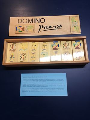 Rare Domino Picasso made for sale  Spain for Sale