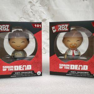 Funko Dorbz: Shaun of the Dead Shaun & Ed Set of 2 for Sale in Norwalk, CA
