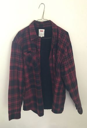 Levi flannel coat for Sale in Adelphi, MD
