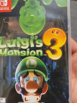 Luigis Mansion 3 For Nintendo Switch for Sale in Everett,  WA