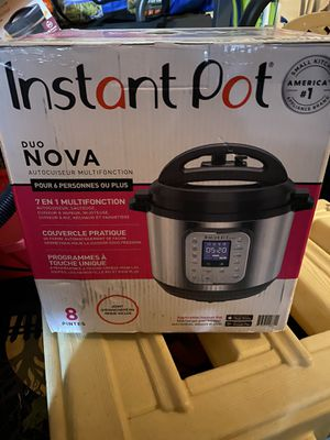 Instant pot for Sale in Moreno Valley, CA