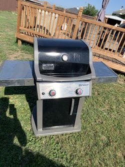 Weber Stainless Steel Grill for Sale in Abilene,  TX