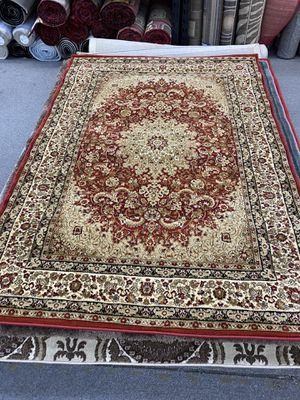 Burgundy color floral design area rug brand new thick quality for Sale in Salem, OR