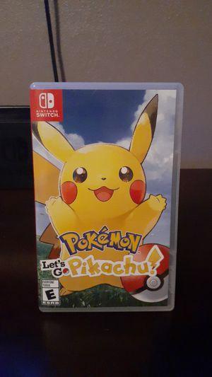 Pokemon let's go pikachu for Sale in Turlock, CA