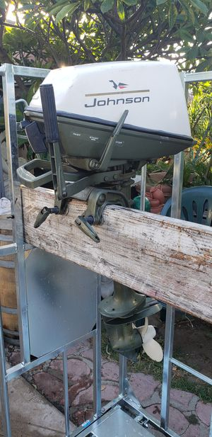 Johnson outboard motor 5 horsepower for Sale in Fullerton, CA