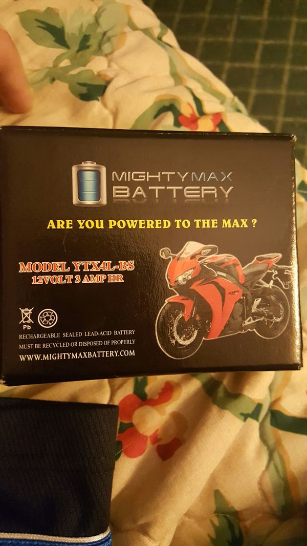 Mighty max battery bran new