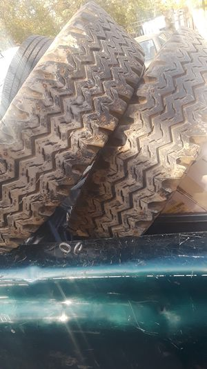 Heavy duty tires 15 inch set of two for Sale in Baltimore, MD