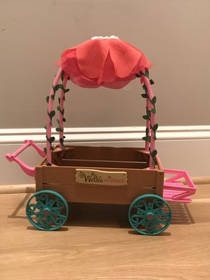 RETIRED American Girl Wellie Wishers Love & Caring Doll Carriage Push Cart for Sale in Apex, NC