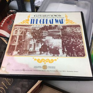 1974 Our Century In Music The Great War 3 Records for Sale in McHenry, IL