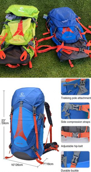 New 45L RedCamp Hiking camping backpacking backpack with internal frame for Sale in Moreno Valley, CA