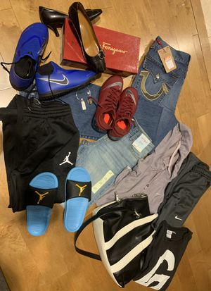 Holiday Bundle ... clothes , shoes , sneakers , pocket book for Sale in Charlotte, NC