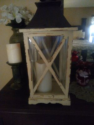 Lantern and candle for Sale in Lecanto, FL