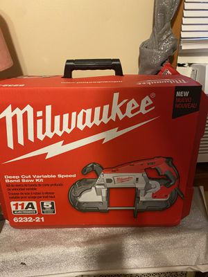 Milwaukee deep cut variable speed band saw tool #6232-21 for Sale in Grafton, MA