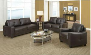 New 3pc sofa set tax included free delivery for Sale in Hayward, CA