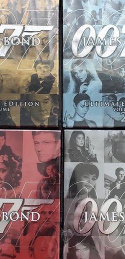 FACTORY SEALED James Bond Ultimate Edition DVD Sets for Sale in Orlando,  FL