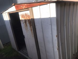Storage shed, metal, 6x8. $280 for Sale in San Diego, CA