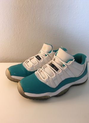 Air Jordan 11s Aqua Blue Low Y7 for Sale in Denver, CO