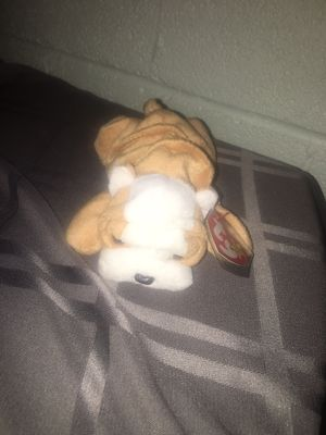 TY BEANIE BABIES - WRINKLES THE DOG - 1996 for Sale in Clinton Township, MI