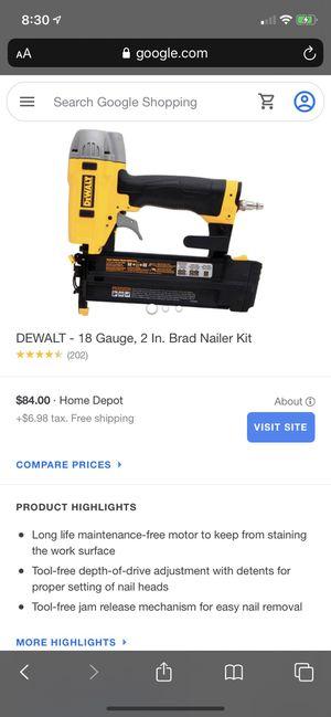 De Walt nail gun for Sale in Denver, CO