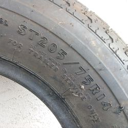 Trailer tire 205 75 14 for Sale in Carlsbad,  CA